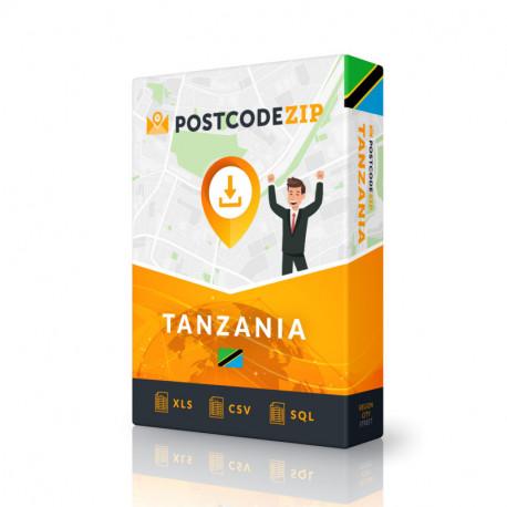 Postcode Argentina, postal code database