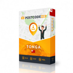 Postcode Austria, postal code database
